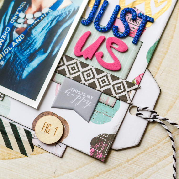 """Just Us"" layout with Kay – HIP KIT CLUB BLOG"