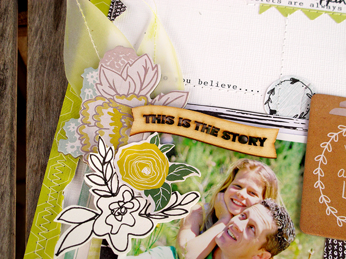 @Hip Kit Club #February2015 by @KimWatson @Heidi Swapp @We R Memory Keepers @Crate Paper @American Crafts @My Mind's Eye inc #hipkitclub #scrapbooking #12x12 #layout