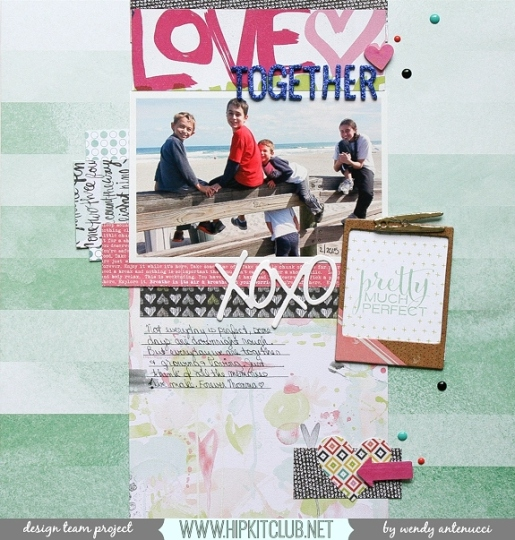 Love Together border
