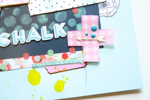 Chalk Imagination @hipkitclub @paroe #hipkitclub March 2015 Kits #scrapbooking
