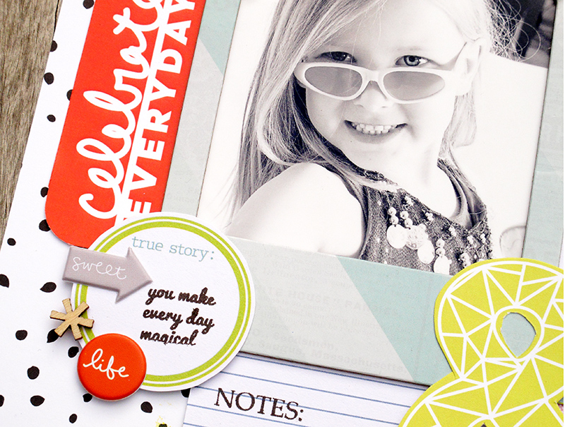 @HipKitClub @KimWatson @americancrafts @shopEvalicious @chickaniddy #scrapbookingkit #summercraft #layout #papercraft