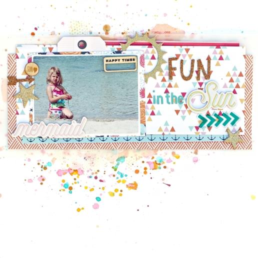 Fun in the sun - Christin Gronnslett Hip Kit Club June 2015 04