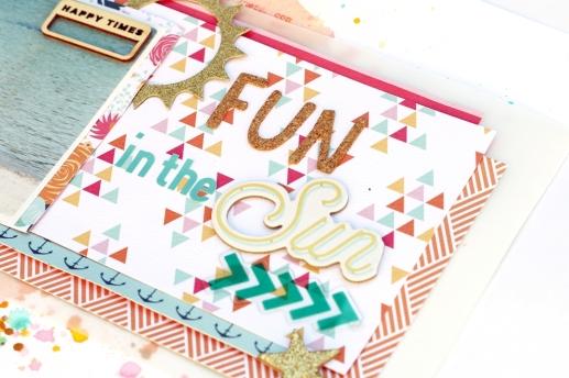 Fun in the sun - Christin Gronnslett Hip Kit Club June 2015 06
