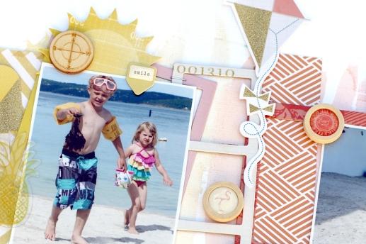 Summer vacation - Christin Gronnslett Hip Kit Club June 2015 04