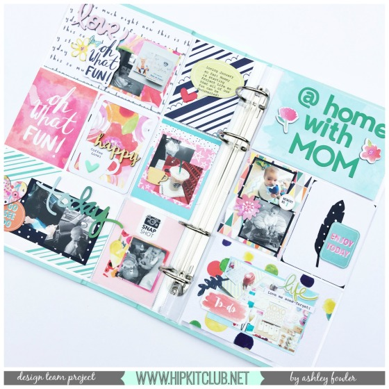 May 2016 Hip Kit Club PL spread