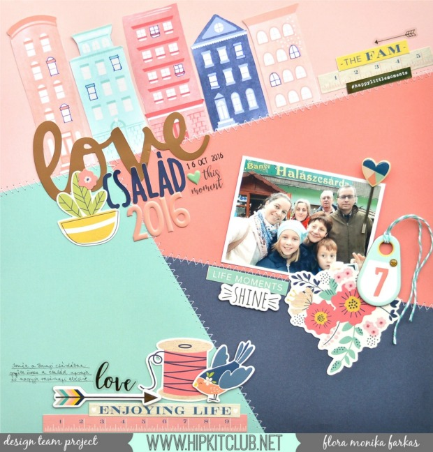 family-selfie-scrapbook-layout