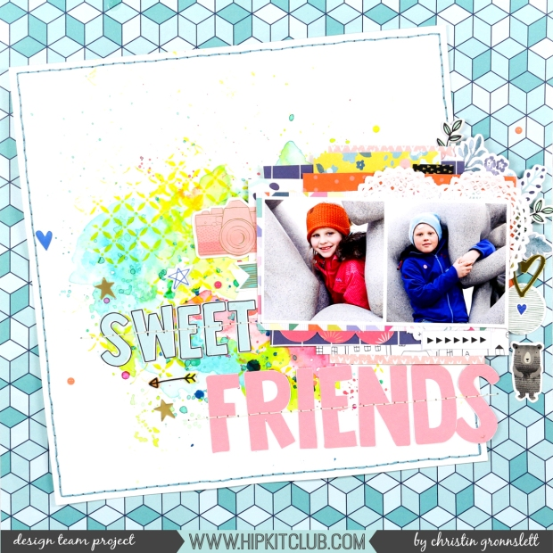 ChristinGronnslettSweetFriendsApril11th