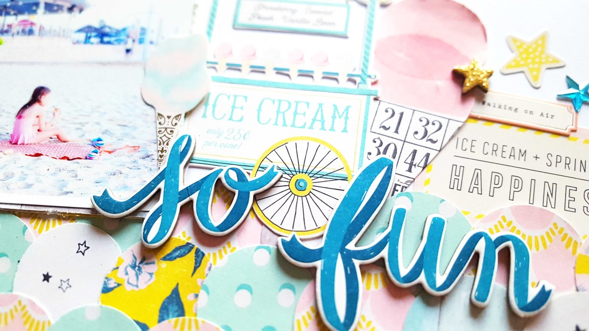 Creating A Quilted Look With Patterned Papers