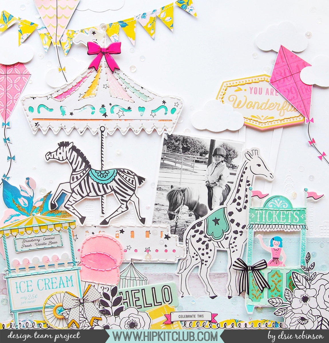Stitch On Your Embellishments! | Elsie Robinson