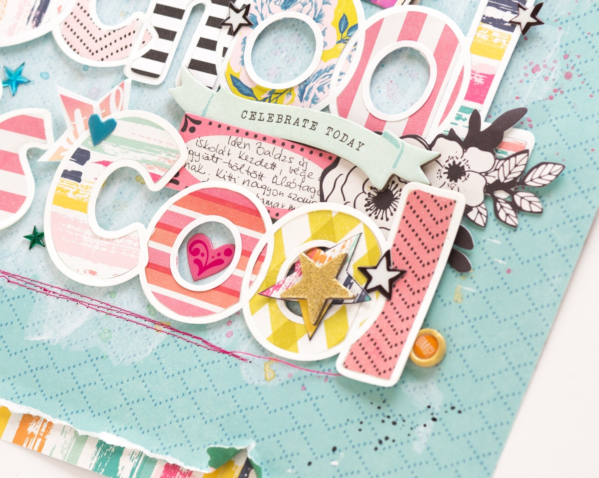 Back to school layout | Bea Valint