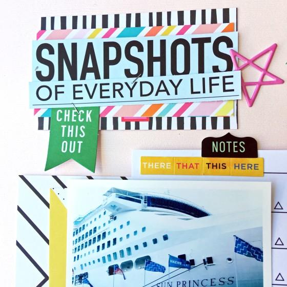 Snapshots of everyday life